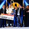 Il vincitore con Luciano Pignataro