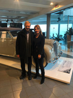 Jon Shirley e Silvia Nicolis